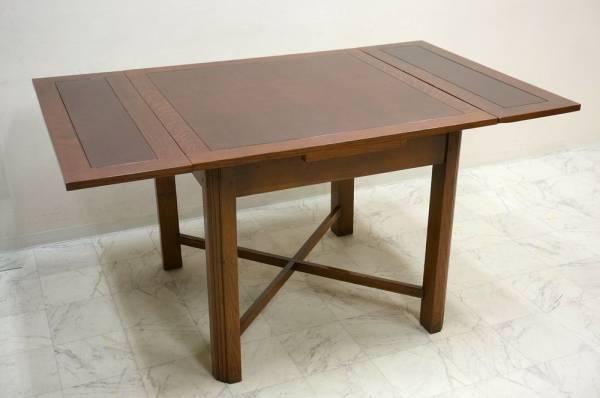 イギリスアンティーク ドローリーフテーブル