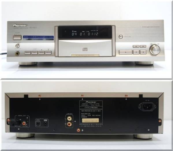 パイオニア DAC24搭載CDプレーヤー PD-HL5