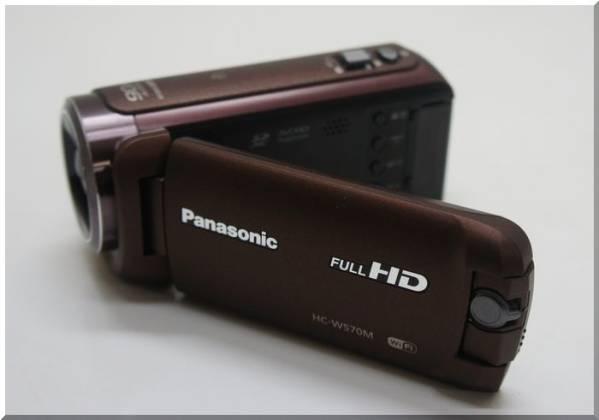 パナソニック HDビデオカメラ HC-W570M