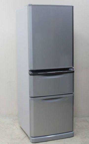三菱 3ドア冷蔵庫 MR-C34EY-AS
