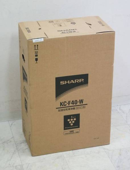 シャープ PM2.5対応加湿空気清浄器 KC-F40-W